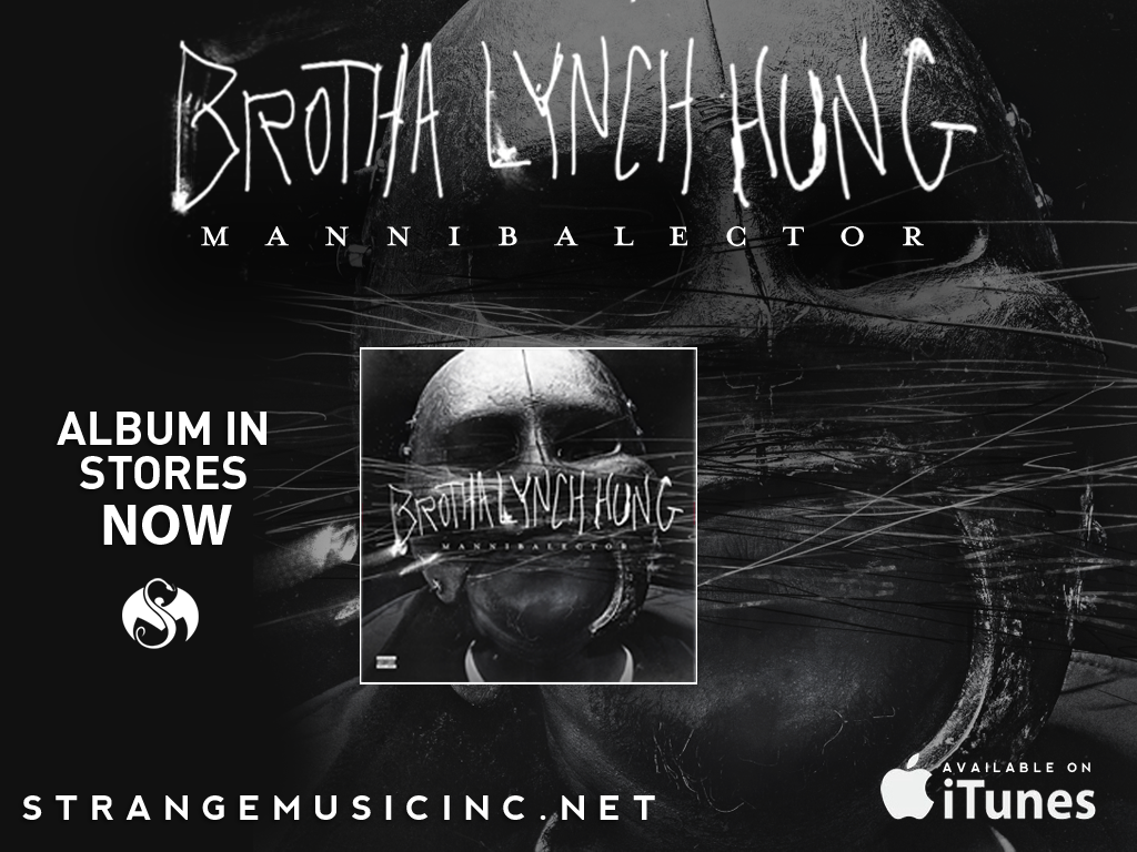 Brotha Lynch Hung - Mannibalector CD 2/05/13