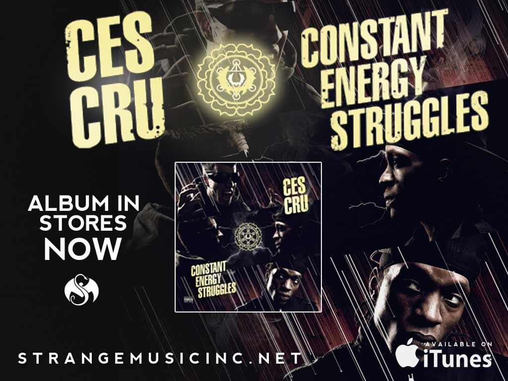 Ces Cru - Constant Energy Struggles CD 2/05/13