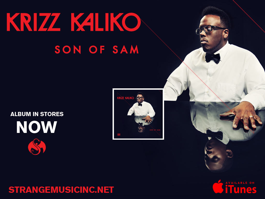 Krizz Kaliko - Son of Sam - Pre Sale Ship Date 8/27/2013
