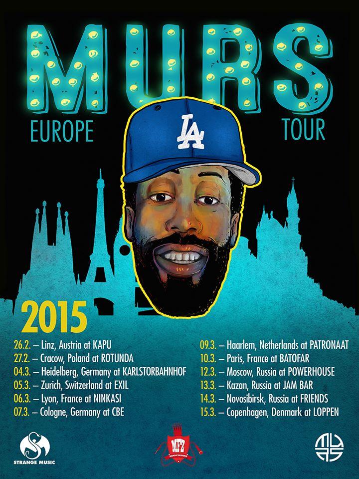 MURS Europe Tour