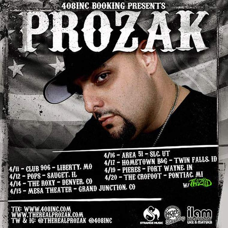 Prozak Live 2015