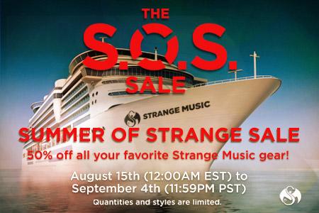 Strange Music SOS Sale
