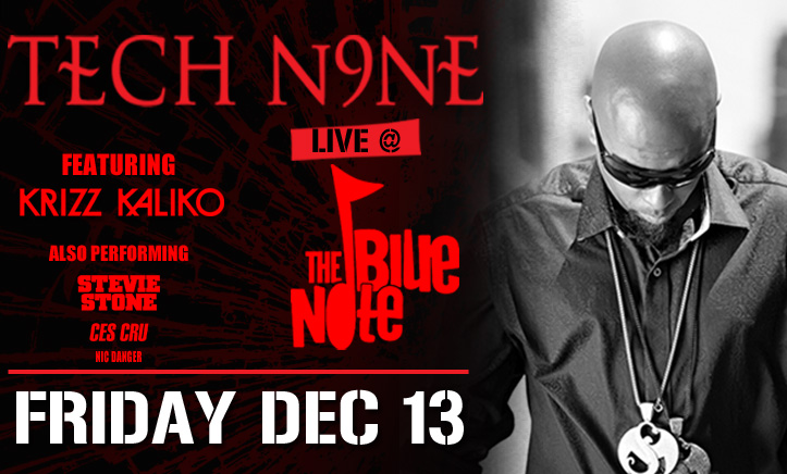 Tech N9ne Live in Columbia, MO - Tour Graphic
