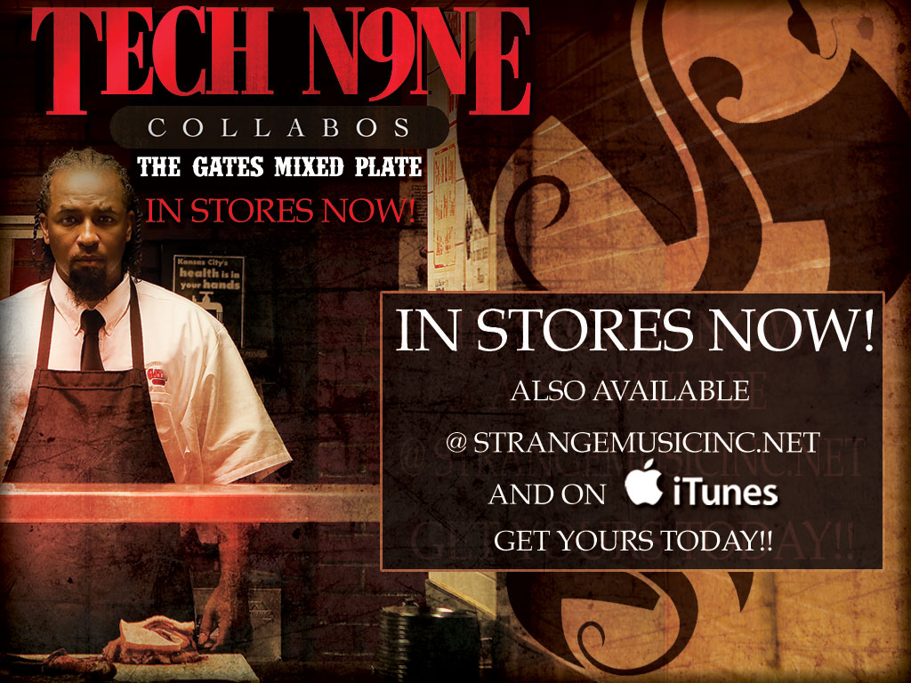 Tech N9ne Collabos- The Gates Mixed Plate 7/27/10