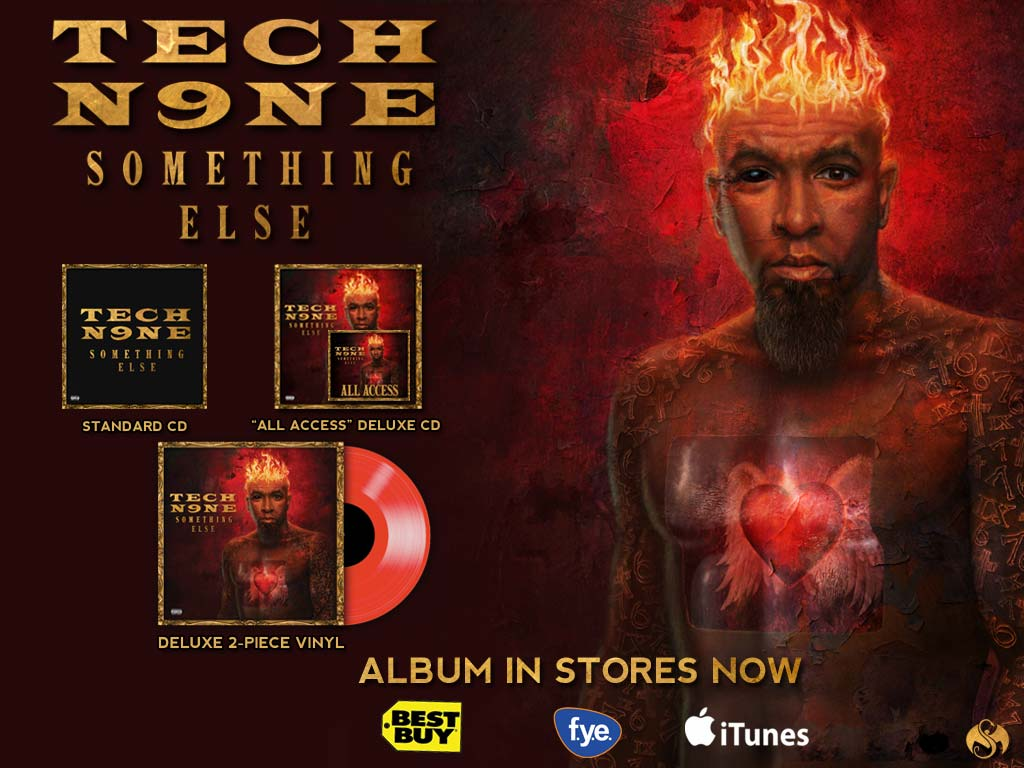Tech N9ne - Something Else - Pre Sale Ship Date 7/30/2013