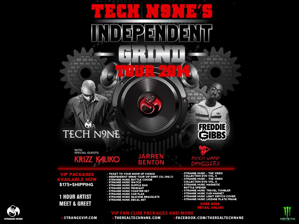 Independent Time to Grind Tech N9ne's Independent Grind