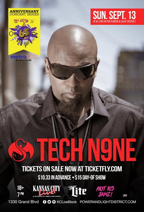 Tech N9ne at Kansas City Live!