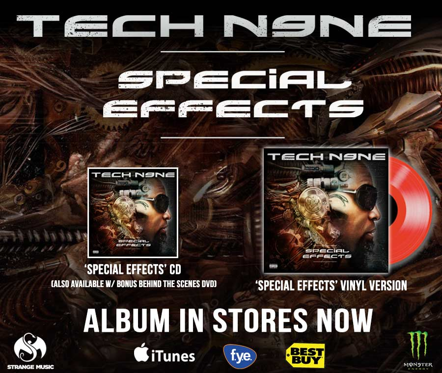 Tech N9ne - Special Effects - Pre Sale Ship Date 5/4/2015