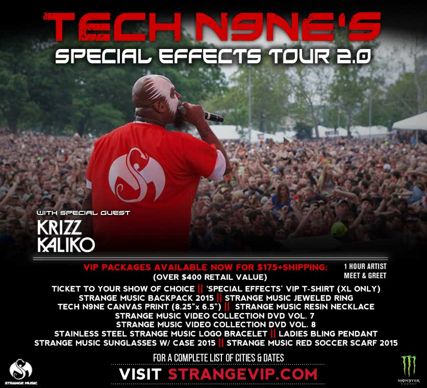 Tech N9ne's Special Effects Tour 2.0
