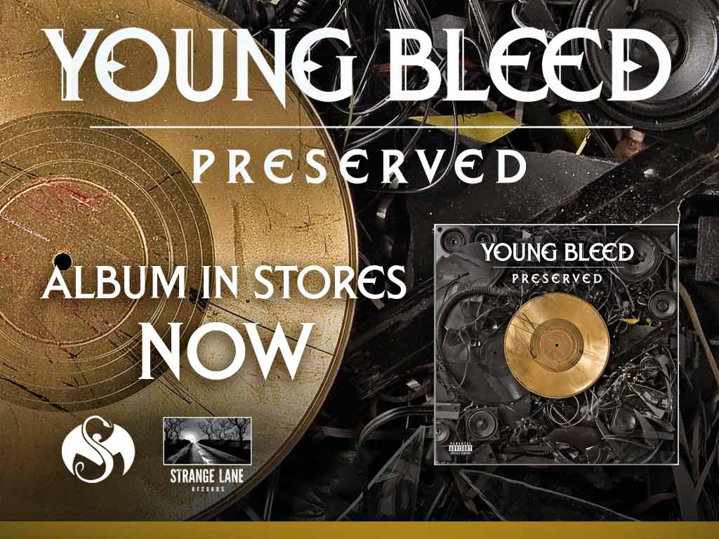 Young Bleed - Preserved CD 10/11/11