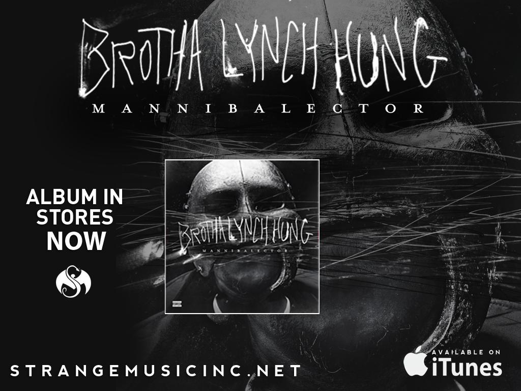 Brotha Lynch Hung - Mannibalector CD 2/05/13
