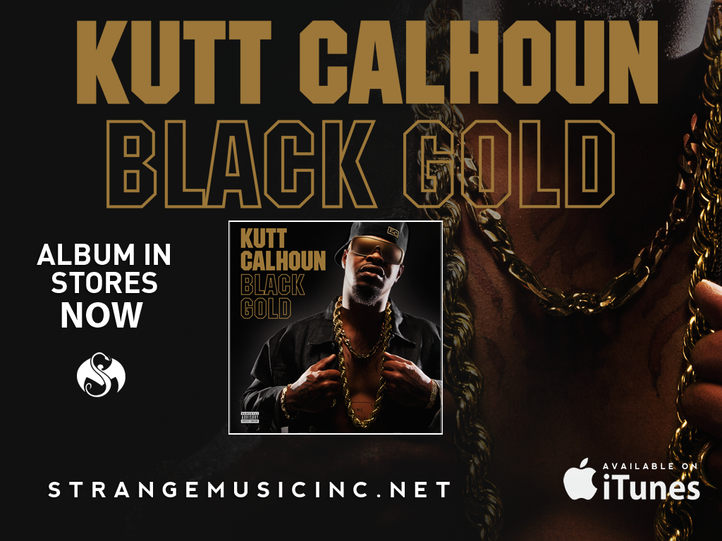 Kutt Calhoun - Black Gold CD 2/26/13