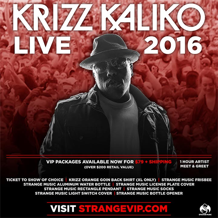 Krizz Kaliko - Live 2016