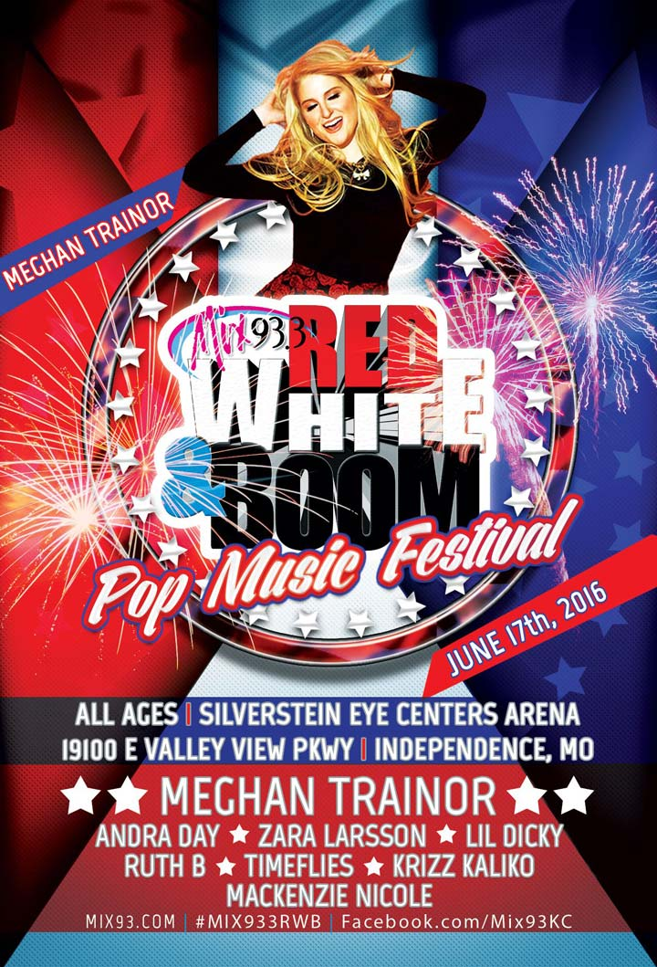 Mix 93.3's Red White & Boom