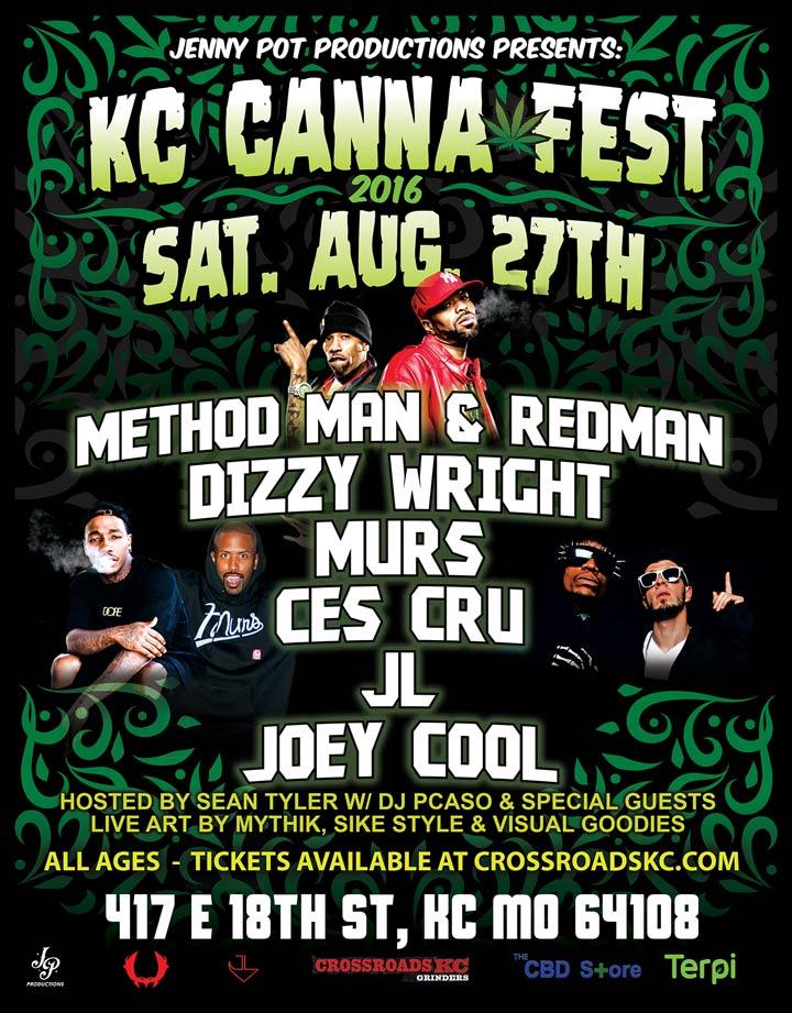 KC Canna Fest w/Murs Ces Cru and JL