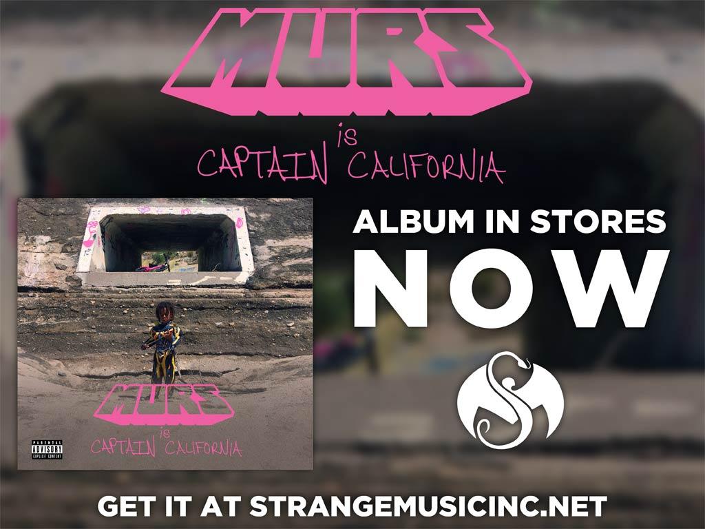 Murs - Captain California - Pre Sale Ship Date 3/10/2017