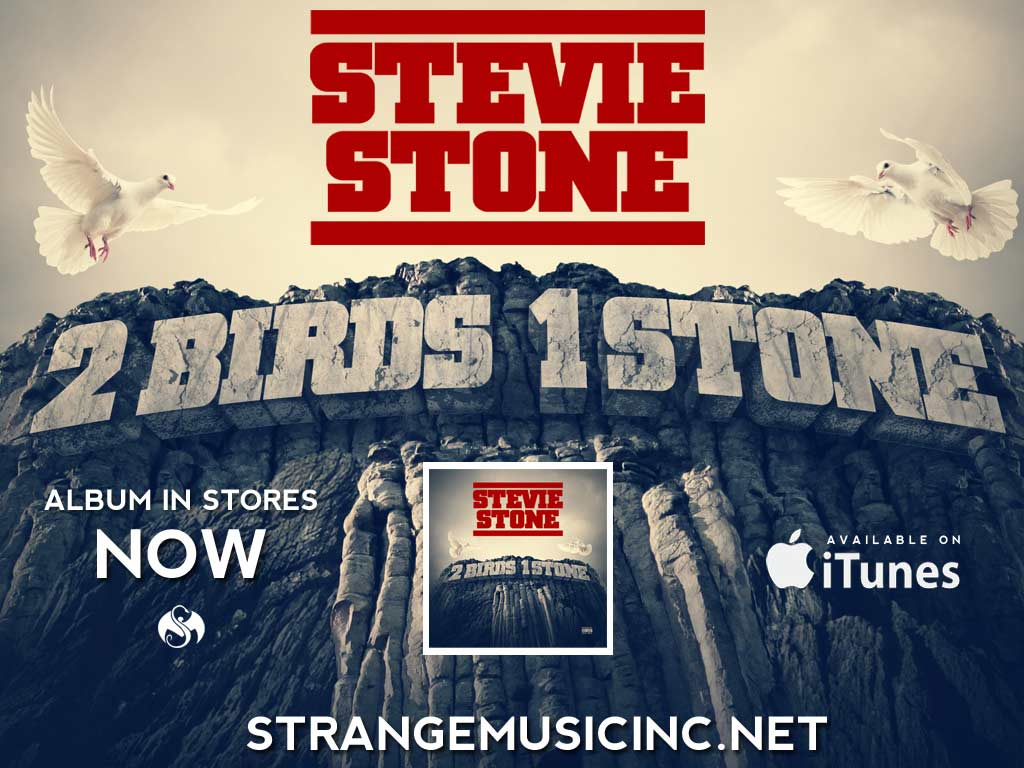 Stevie Stone - 2 Birds 1 Stone - Pre Sale Ship Date 8/13/2013
