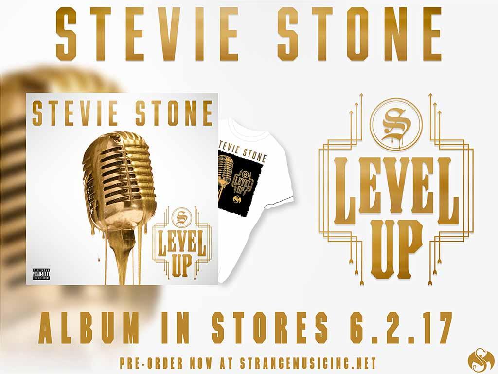 Stevie Stone - Level Up - Pre Sale Ship Date 6/02/2017