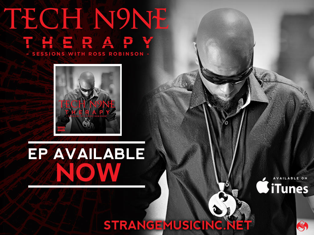Tech N9ne - Therapy EP - Pre Sale Ship Date 11/05/2013