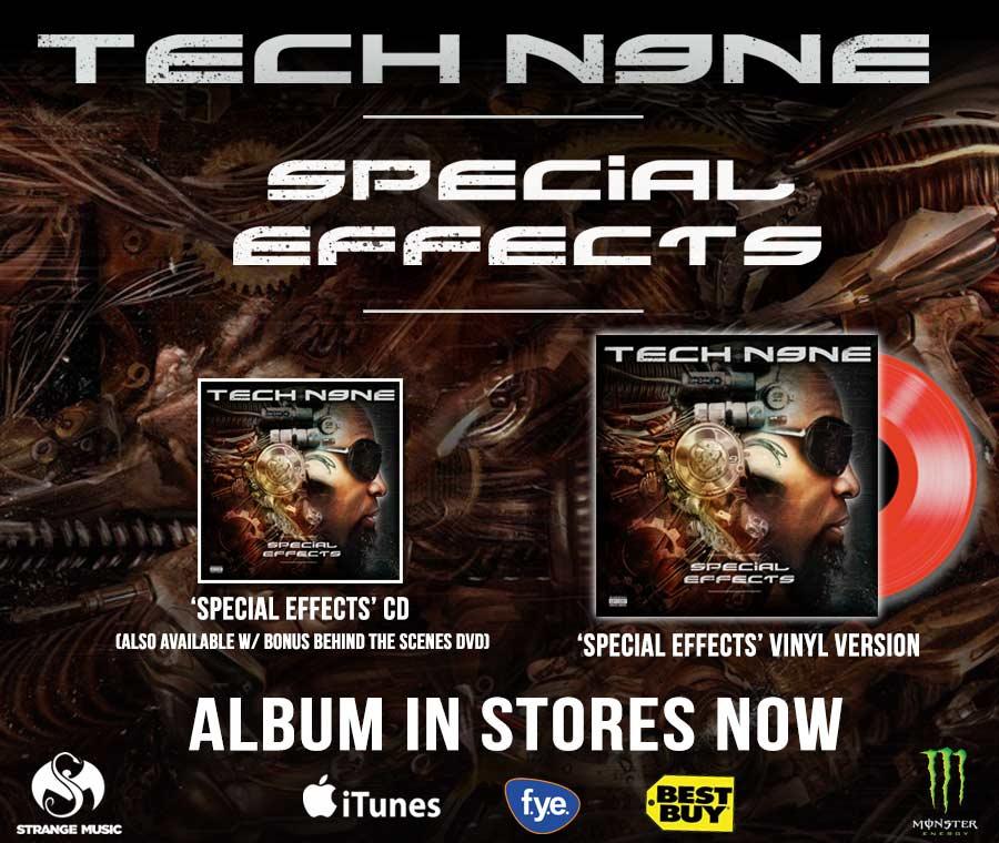Tech N9ne - Special Effects - Pre Sale Ship Date 5/4/2015