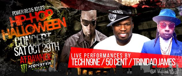 Power 98.3 & 101.9's Hip-Hop Halloween