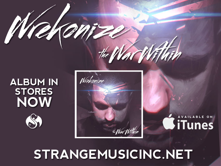Wrekonize - The War Within CD - Pre Sale Ship Date 6/25/2013